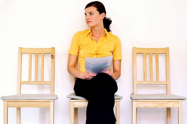Det er OK at være nervøs til jobsamtalen